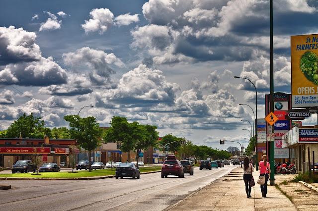 Como andar em Winnipeg de carro
