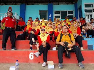 Penonton Liga OSIS SMK Panca Bhakti Banjarnegara 2017
