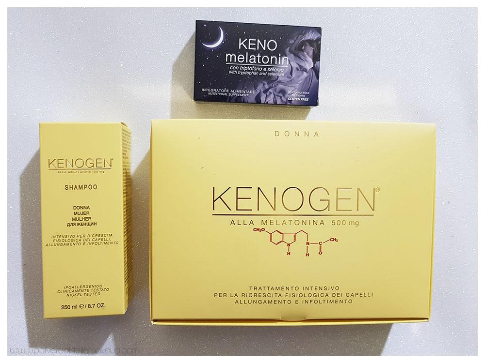 Vivipharma Kenogen trattamento allungamento capelli