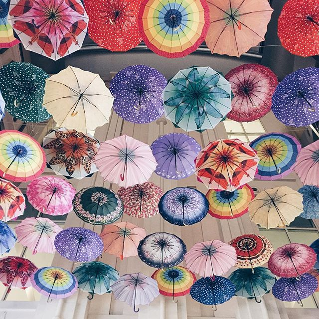 umbrellas ceiling
