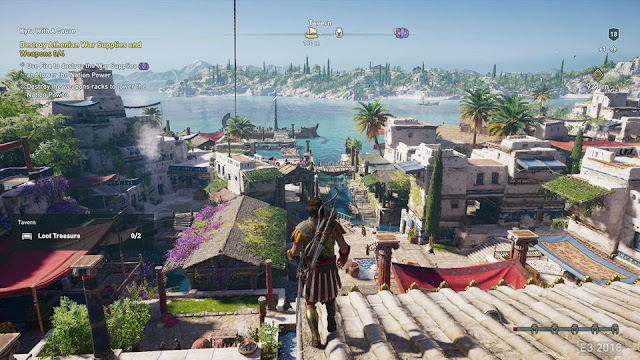 شاهد خمسة دقائق لأسلوب اللعب في Assassin's Creed Odyssey و تحديد تاريخ إصدارها …