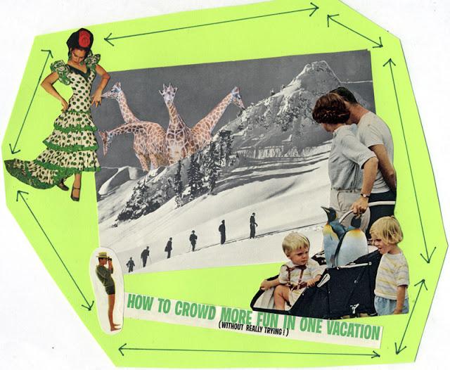 Paper collage by Claudia Mazzie-Ballheim