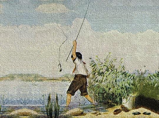 Il pescatore e il pesciolino - Esopo