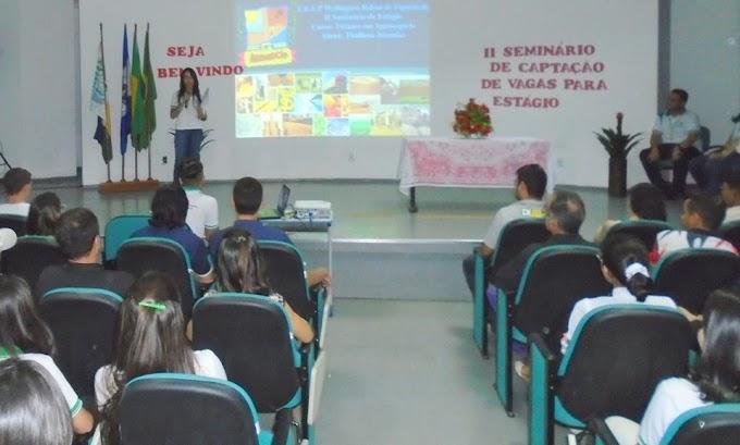 Escola Profissional de Nova Olinda Realiza II Seminário de Estágio