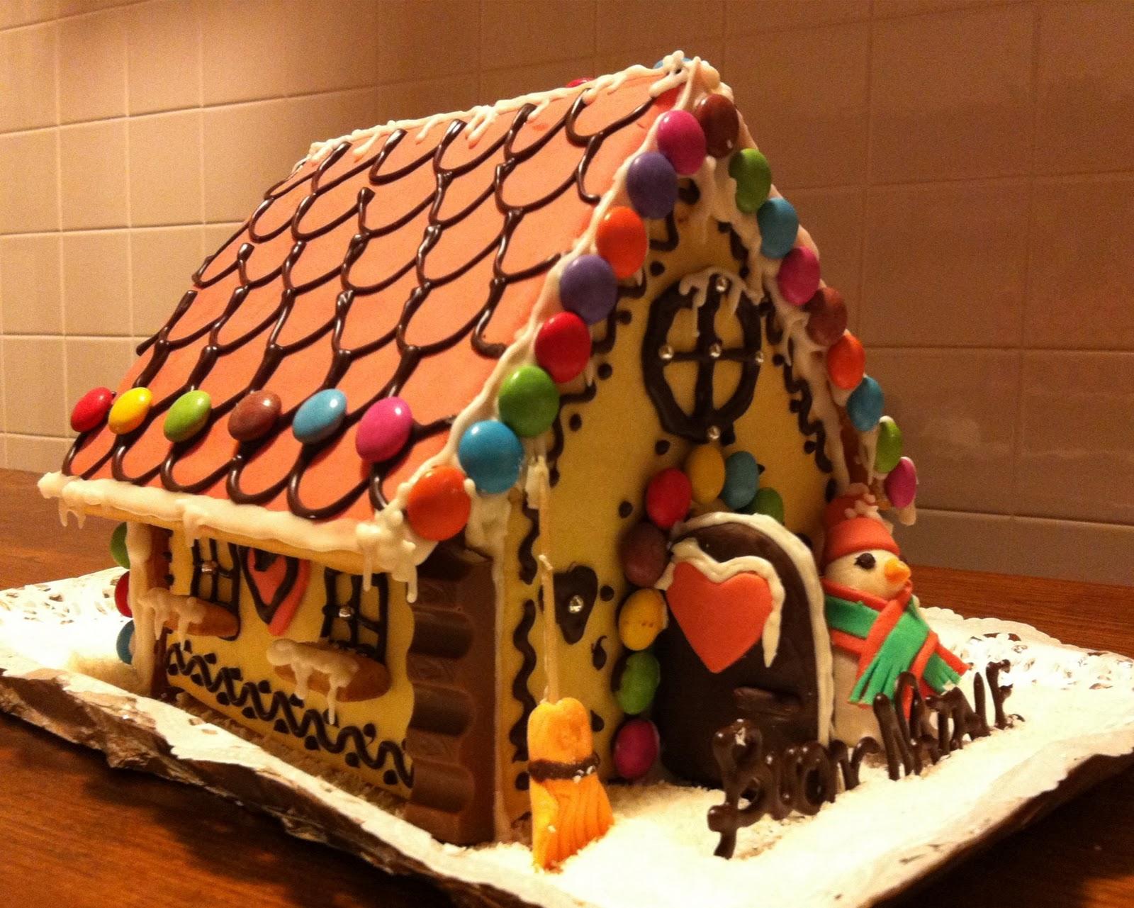 Casetta Di Natale.Lo Zuccherino Magico Casetta Di Natale