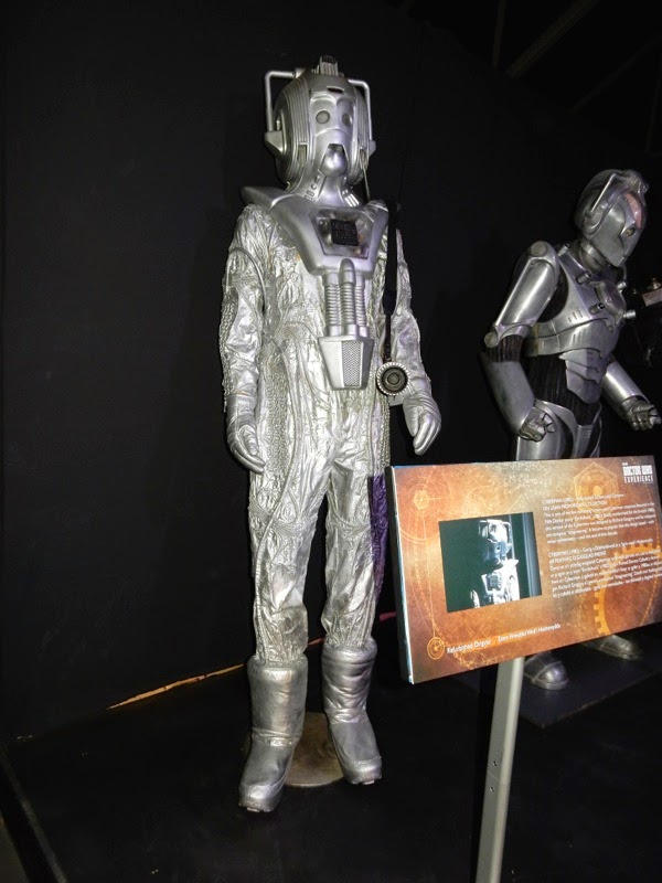 1982 Cyberman costume Doctor Who Earthshock