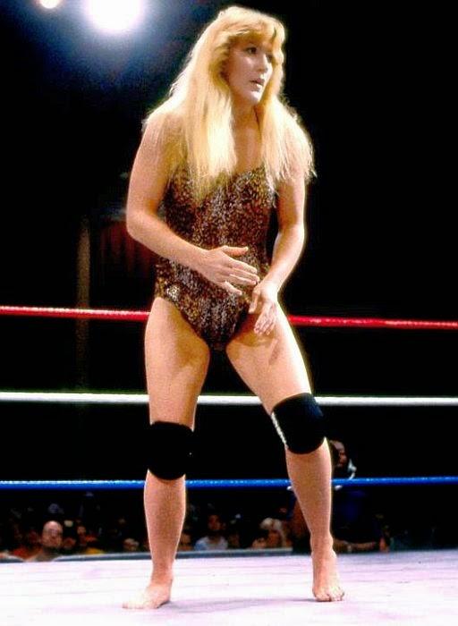 Velvet MacIntyre-wrestling