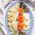 Ensalada de patatas y salmón