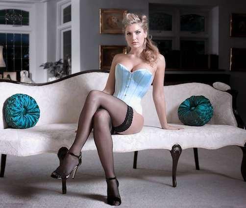 corsetorium silk satin corset luxury waspie for waist training