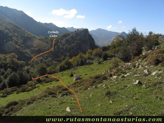 Ruta de los Arrudos y Corteguerón: Camino al Collado Cobo