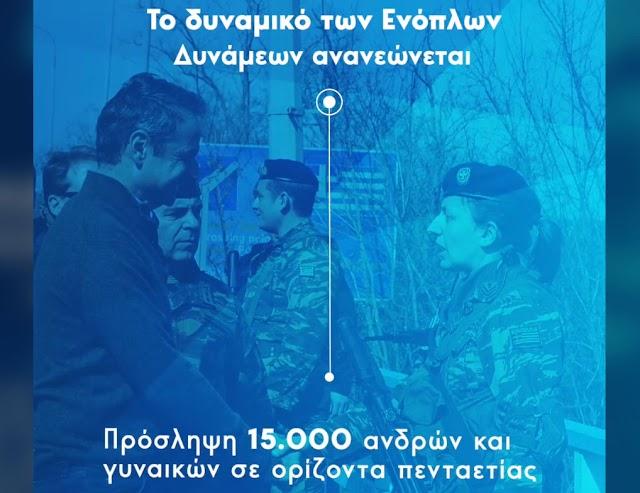 Ανάρτηση Μητσοτάκη στο fb: Ήρθε η ώρα να ενισχύσουμε τις Ένοπλες Δυνάμεις (ΒΙΝΤΕΟ)