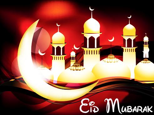 100  Gambar Keren Eid Mubarak Paling Keren