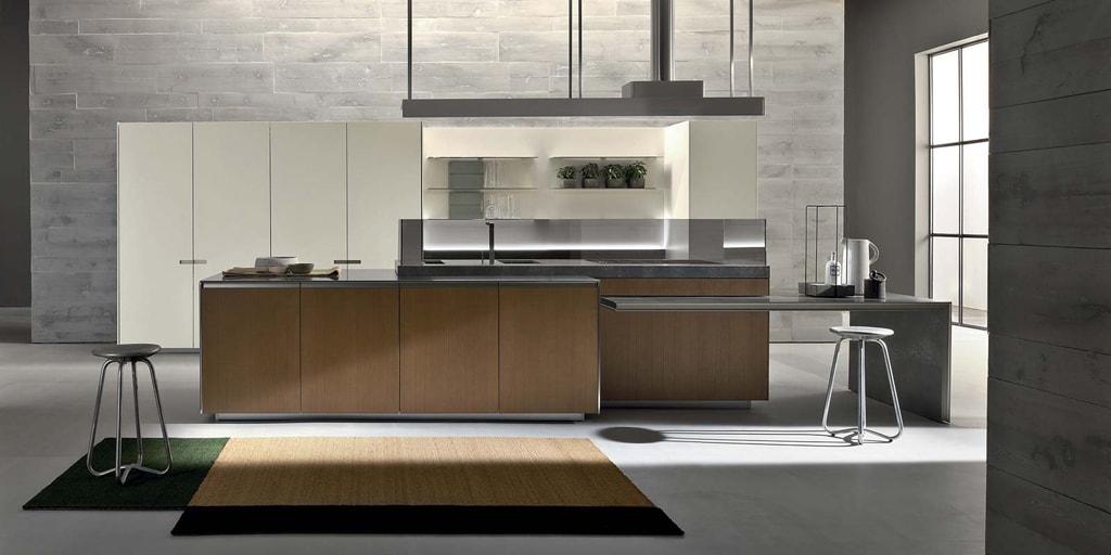30 ideas de cocinas en blanco y madera i cocinas con for Arredamenti case bellissime