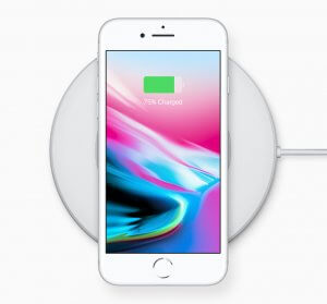 New iPhone 8 wireless charging