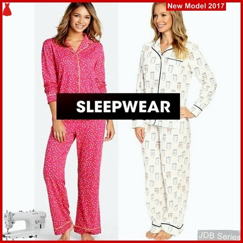 JDB105 FASHION Pajamas Lig Perempuan Sleepwear BMG