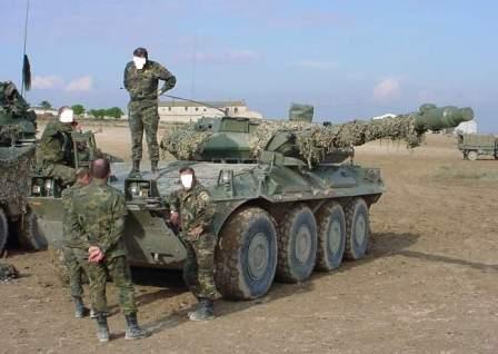 Tank beroda Italia Rusia
