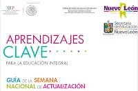Semana Nacional de Actualización - Aprendizajes Clave