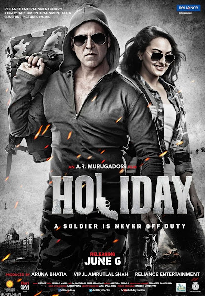 Poster Of Holiday 2014 720p Hindi BRRip Full Movie Download
