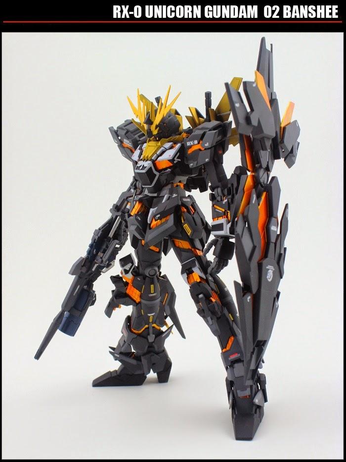 Custom Build Mg 1 100 Banshee Norn Resin Conversion Gundam Kits