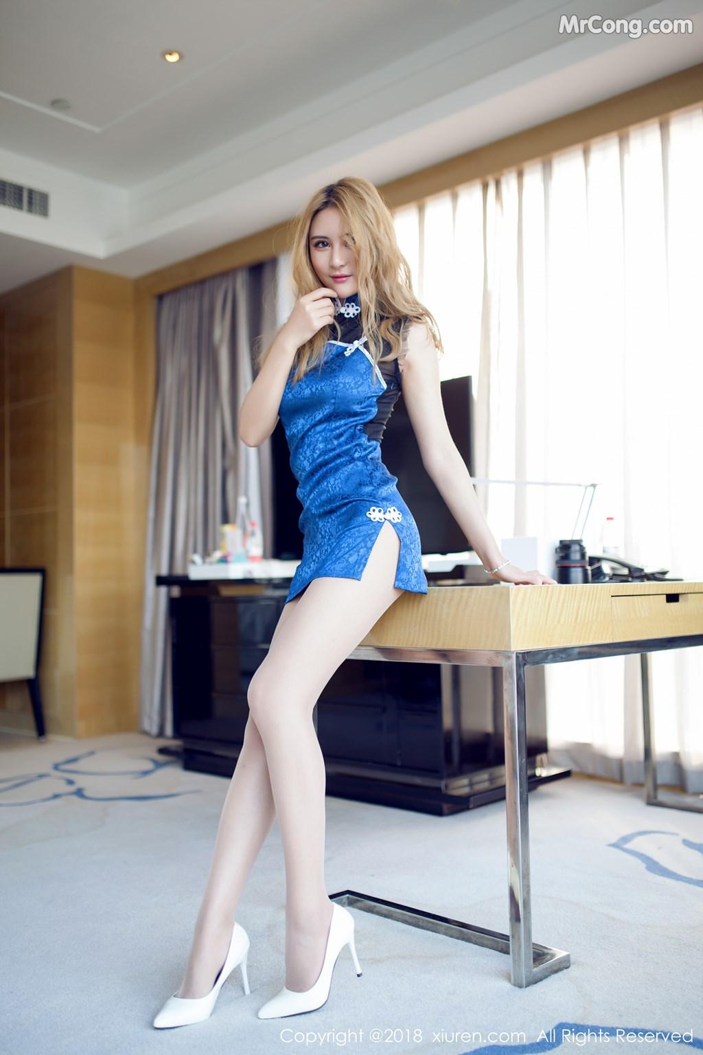 Image XIUREN-No.890-SOLO-MrCong.com-003 in post XIUREN No.890: Người mẫu SOLO-尹菲 (55 ảnh)