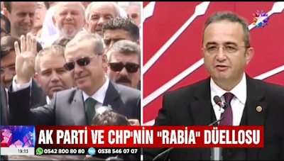 """Cumhuriyet Halk Partisi'nin """"Rabia"""" Düellosu"""