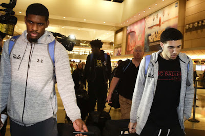 UCLA players back in California after shoplifting arrests in China