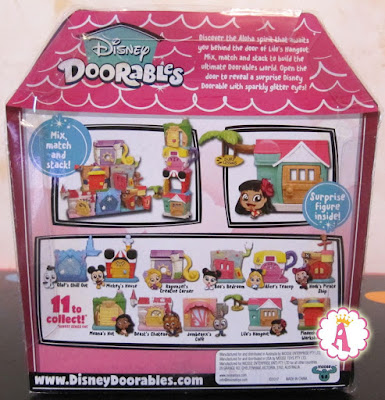 Набор с Лило и Стич Disney Doorables
