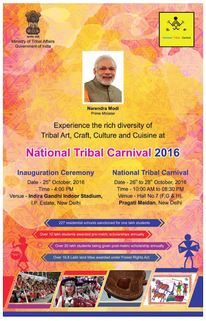 Prime Minister Narendra Modi to Inaugurate National Tribal Carnival in Delhi