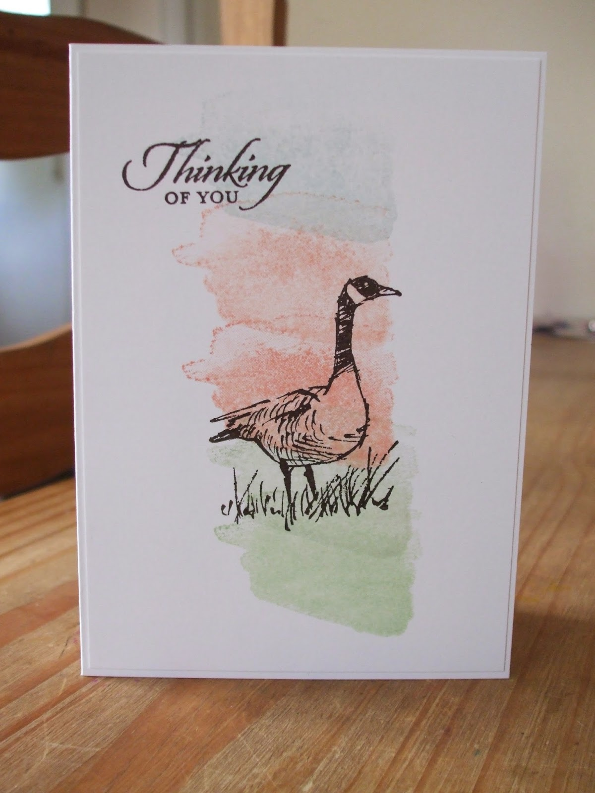 Stampin' Up! Wetlands, Happy Watercolour