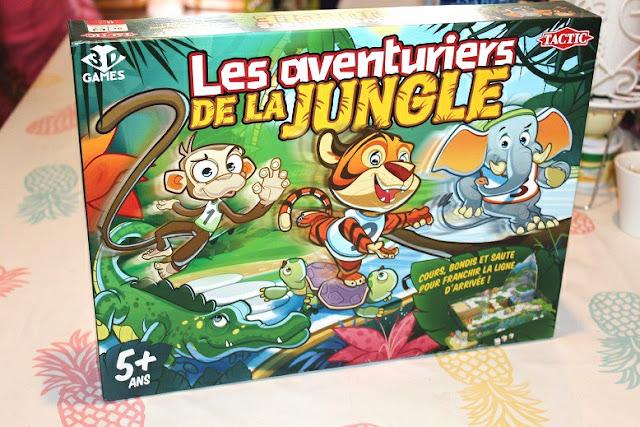 jeu de société avec des animaux les aventuriers de la jungle