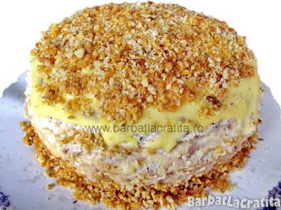 Tort egiptean cu nuca si krantz reteta