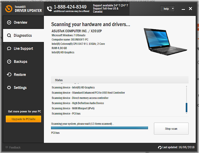 Download TweakBit Driver Updater 2.0.0.11 Full Version