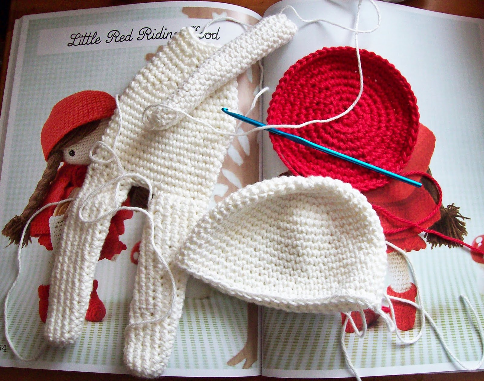 Sewing Is For Girls Book Review My Crochet Doll By Isabelle Kessedjian