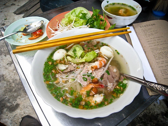 Hủ Tiếu - A Typical Street Food in Saigon
