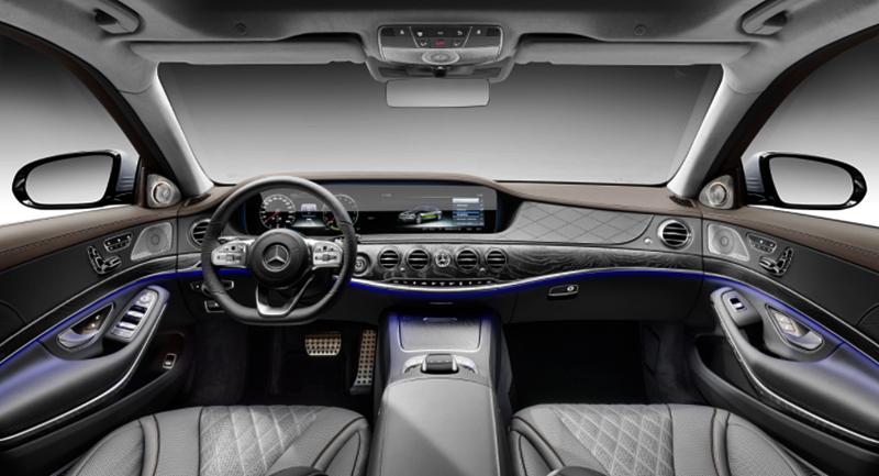 2019 Mercedes‑Benz S 560 e Plug‑in Hybrid Interior