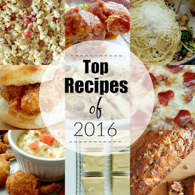 Top Recipes of 2016...these recipes took the cake this year!  All of my fans favorites. (sweetandsavoryfood.com)