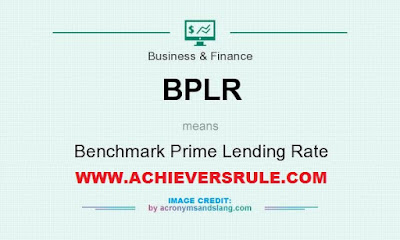 Base Rate - Benchmark Prime Lending Rate