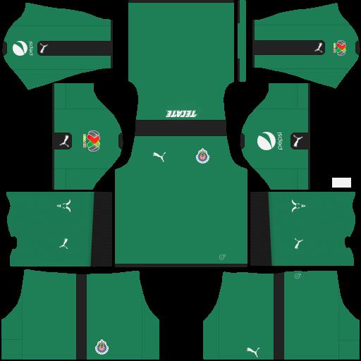 Uniformes de las chivas para dream league soccer 2017 for Cuarto kit del america 2018