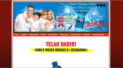 jasa blog ionasis family water
