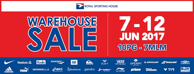 Royal Sporting House Malaysia Warehouse Clearance Sale