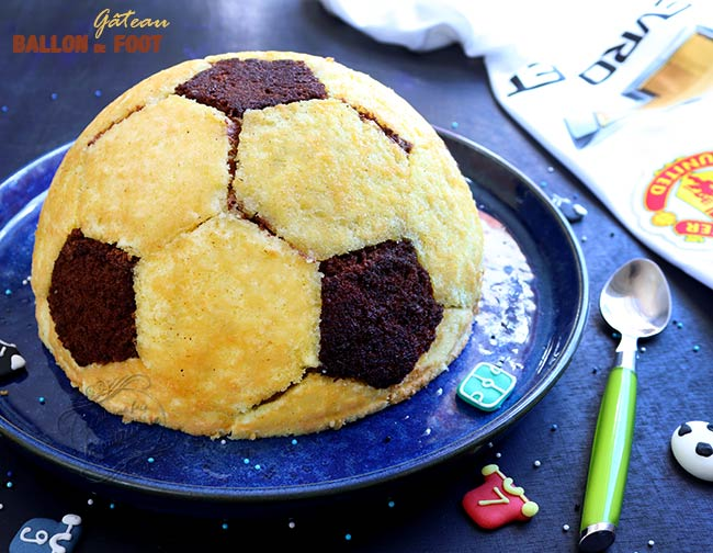 comment faire un gateau ballon de foot