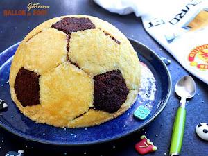 Gâteau ballon de foot au chocolat !