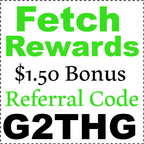 $1.50 Fetch Rewards Sign up Bonus Referral Code 2018