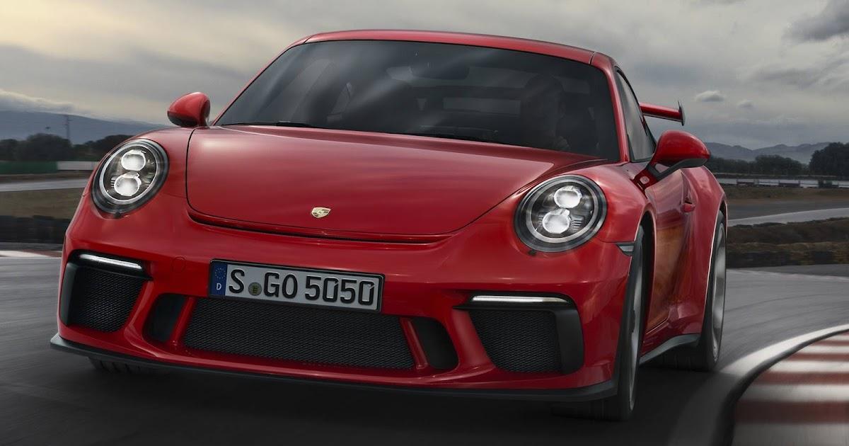 Porsche 911 GT3 2018: vídeo e especificações oficiais