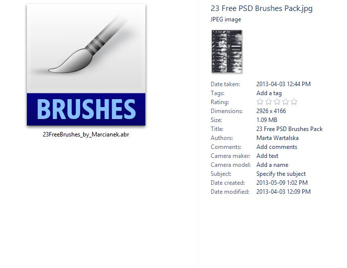The right way to install Brushes in Adobe Photoshop