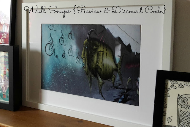 Wall Snaps {Review & Discount Code} // 76sunflowers
