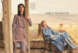 """""""Girls' Weekend"""" Harper's Bazaar UK July 2017"""