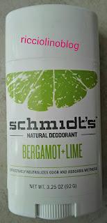 Bergamot + Lime Deodorant Stick