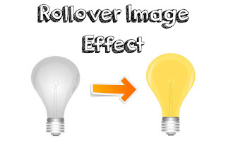 how to create rollover image effect change on hover