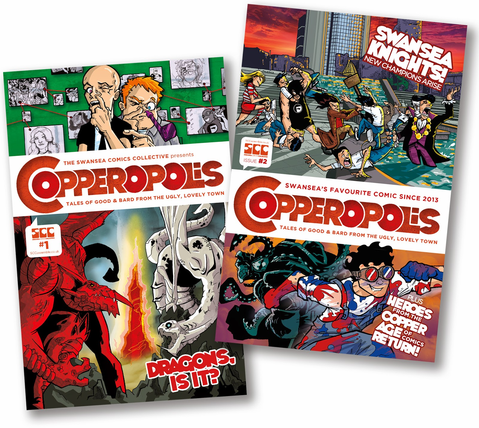 Copperopolis comic - issues one and two available now